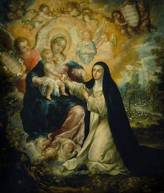 'The gift of grace increases as the struggle increases.'   St. Rose of Lima