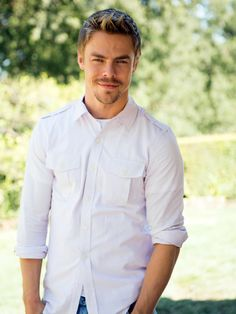 Derek Hough | BTS shots of Derek and Mark's Excellent Flip
