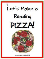 Let's Make a Reading Pizza!