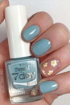 Seven inspirational blue nail art collections the stylish girl you must try - Abby FASHION STYLE Cute Nail Art Designs, Short Nail Designs, Girl Blog, Blue Nails, Light Art, Short Nails, Stylish Girl, Manicure, Girl Fashion