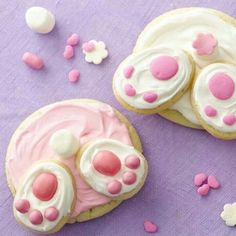 Bunny butt cookies (from Pillsbury Web page)