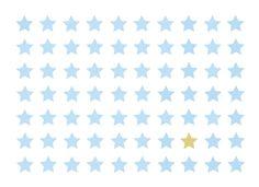 VINTA SERIES. Wunderschöne Sterne für kleine Jungs. Auf Leinwand drucken und ab an die Wand!