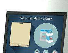 """Check out new work on my @Behance portfolio: """"Elaboração de Telas para Totem de Self Checkout"""" http://on.be.net/1Dvw8T0"""