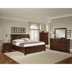 Richmond 6-pc Queen Storage Bedroom Set