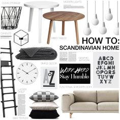 A home decor collage from May 2014