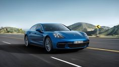 The new Panamera V6 makes 330 hp