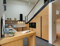 Un tobogán dentro de este apartamento - FRACTAL estudio + arquitectura
