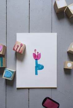 DIY Flower Stamps | Mer Mag