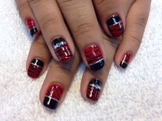 Red Tiger by creativeedge from Nail Art Gallery
