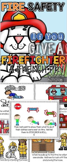 Fire Safety Literacy & Math Pack!