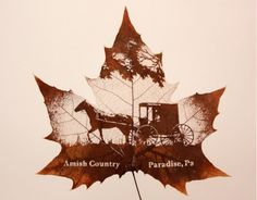 The Incredible Art of Carved Leaves : TreeHugger