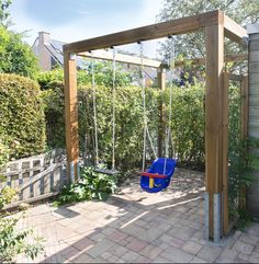 There are lots of pergola designs for you to choose from. First of all you have to decide where you are going to have your pergola and how much shade you want. Pergola Swing, Cheap Pergola, Wooden Pergola, Backyard Pergola, Backyard Landscaping, Pergola Carport, Garden Swing Seat, Terrace Garden, Pergola Attached To House