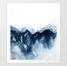 """Fantastic """"buy abstract art from dolna.in"""" detail is available on our internet site. Have a look and you wont be sorry you did. Zen, Abstract Watercolor Art, Watercolor Landscape, Mountain Art, Mountain Paintings, Art Auction, Framed Art Prints, Decoration, Buy Art"""
