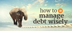 How to manage debt wisely and become debt free faster. Get Out Of Debt, Debt Free, How To Get, Money, Learning, Ideas, Silver, Studying, Teaching