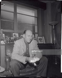April 11, 1954: After learning that he has been traded to the New York Yankees, veteran Cardinal outfielder Enos Slaughter cries in the Red Bird office. Slaughter said, 'I can't even talk, this is the most awful thing that has ever happened to me in my life.' The 38 year old Slaughter was traded for three players to guarantee outfield protection in case Mickey Mantle's ailing knee fails to hold up. Slaughter broke in with the Cardinals in 1938