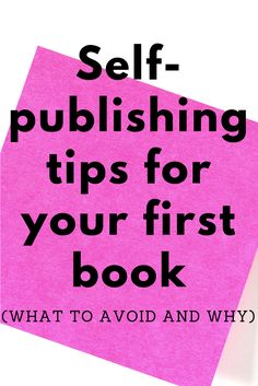 Navigating all the moving pieces of self-publishing your first book is hard. This post outlines the most important things you should know (and what to avoid) if you want to self-publish on a budget. Book Writing Tips, Writing Skills, Writing Prompts, Start Writing, Writing A Book Outline, Writing Goals, Kids Writing, Blog Writing, Writing Ideas