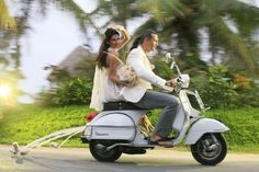 Wife love fashion ladies playa Vespa