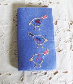 needle case for hand sewing travel sewing kit wool by cozyhomebytj