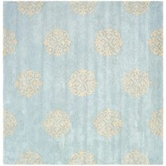 Safavieh Soho Collection SOH724A Handmade Turquoise and Y...