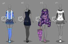 Custom Outfits #28 by Nahemii-san on DeviantArt