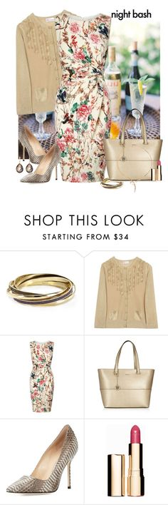"""Tote Bag"" by vilmamartini ❤ liked on Polyvore featuring Louis Vuitton, ABS by Allen Schwartz, Valentino, Lipsy, DKNY, Manolo Blahnik, Clarins, Roberto Coin and totebags"