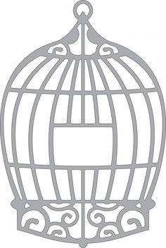 Cheery Lynn Designs - DIE - Bird Cage