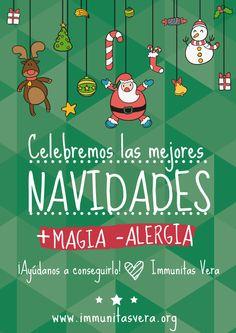Campaña concienzación sobre la alergia alimentaria + magia - alergia Carta a los Reyes Magos  2015 Immunitas Vera
