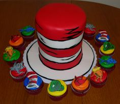 dr seuss cupcakes and cake | Jen Hanna | Flickr