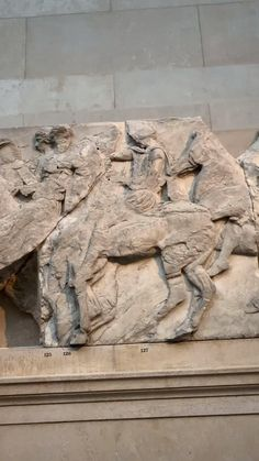 Parthenon, London Art, Aesthetic Videos, British Museum, Ancient History, Traveling, Around The Worlds, Sculpture, Photo And Video
