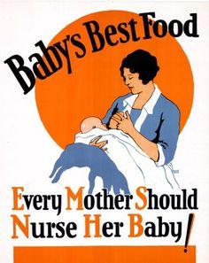 1930 US AMA Poster (breastfeeding)
