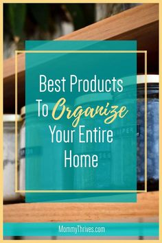 Best Products For Home Organization - How To Organize Your Home - Clutter Free Organization Products For Home Entryway Organization, Small Space Organization, Home Organization Hacks, Organizing Ideas, Organizing Clutter, Organizing Your Home, Pantry Storage Containers, Word Families, Clean House