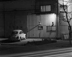 Night Photographs N-030, Fujigaya, Fujisawa City, Kanagawa Prefecture (VW) 1982