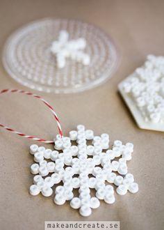 Pärlade julhängen - Idébank - DIY - Make & Create