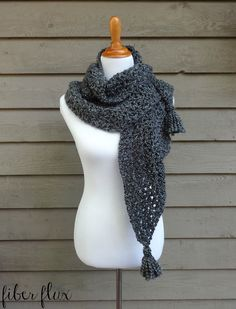Early Morning Wrap By Jennifer Dickerson - Free Crochet Pattern - (ravelry)