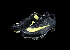 April  2011 - Nike release the Mercurial Vapor III CR Safari Black/Yellow  www.prodirectsoccer.com