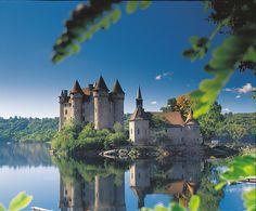 Kasteel van Val - Lanobre, Frankrijk