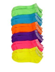 6 Pack Colored Socks | Girls Socks  Legwear Accessories | Shop Justice