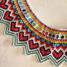 Handmade Traditional Colombian Beaded Necklace