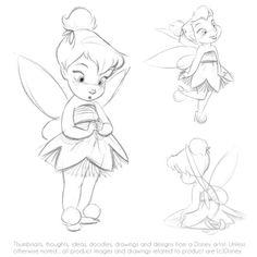 Disney tiker bell animators doll draw
