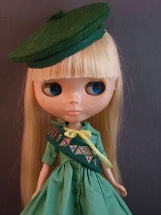 Girl Scout Blythe Doll