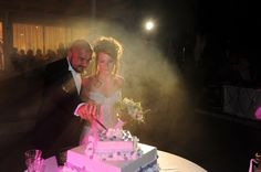 Wedding cake in greece