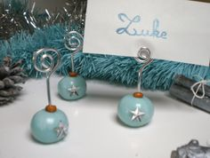 Marque place fimo and biscuits on pinterest - Marque place noel pate a sel ...