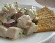 Fancy Chicken Salad | Lauren's Latest