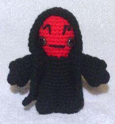 Darth Maul - Star Wars Mini Amigurumi - based on Obi-Wan Kenobi - Star Wars Mini Amigurumi pattern by Lucy Ravenscar