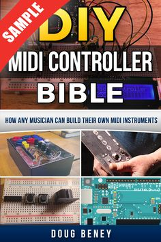 Welcome to DIY MIDI Controller! We provide the best information to teach you how to build your own MIDI controllers affordably. Diy Electronic Kits, Electronic Gadgets For Men, Electronic Workbench, Diy Electronics, Electronics Projects, Raspberry Projects, Arduino Programming, Drawing Machine, Midi Keyboard