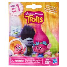 Ready to have a hair-raising time? These colorful 2.5-inch figures are inspired by the DreamWorks Trolls animated movie. Each wild-haired figure comes hidden in a bag for an element of surprise. Randomly receive 1 of 12 and try to collect them all! Style and play with the colorful and wild hair of characters such as Poppy, Branch, Guy Diamond, Harper and more. Each sold separately.<br><br>Please note: Item selection is random. Items are in blind packaging. We cannot accept request...