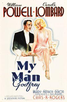 My Man Godfrey (Gregory La Cava, 1936) - starring William Powell and Carole Lombard