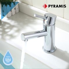 Water is as precious as life! Save up to 50% from its consumption by choosing Pyramis taps with aerators and contribute to a better future. Oven And Hob, International Days, World Water Day, Taps, Future, Life, Future Tense, Faucets