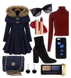 """It's Cold Outside"" by ravenclawkaty ❤ liked on Polyvore featuring beauty, A.L.C., Valentino, Chanel, STELLA McCARTNEY, Bling Jewelry and Guerlain"