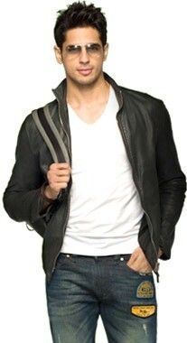 Student of the year.. yes indeed sidharth malhotra Cool leather jacket so HOT